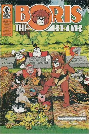 Boris the Bear 8-A