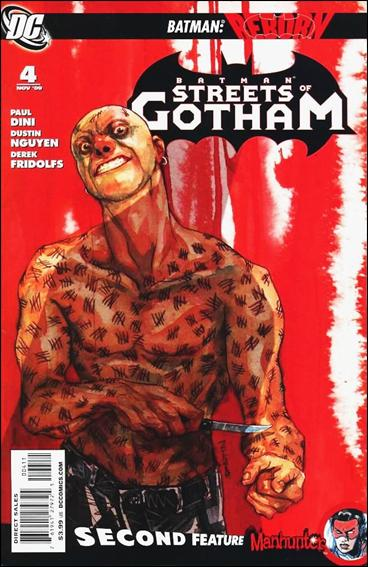 Batman: Streets of Gotham 4-A by DC