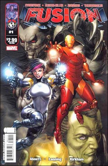 Fusion (2009) 1-A by Top Cow
