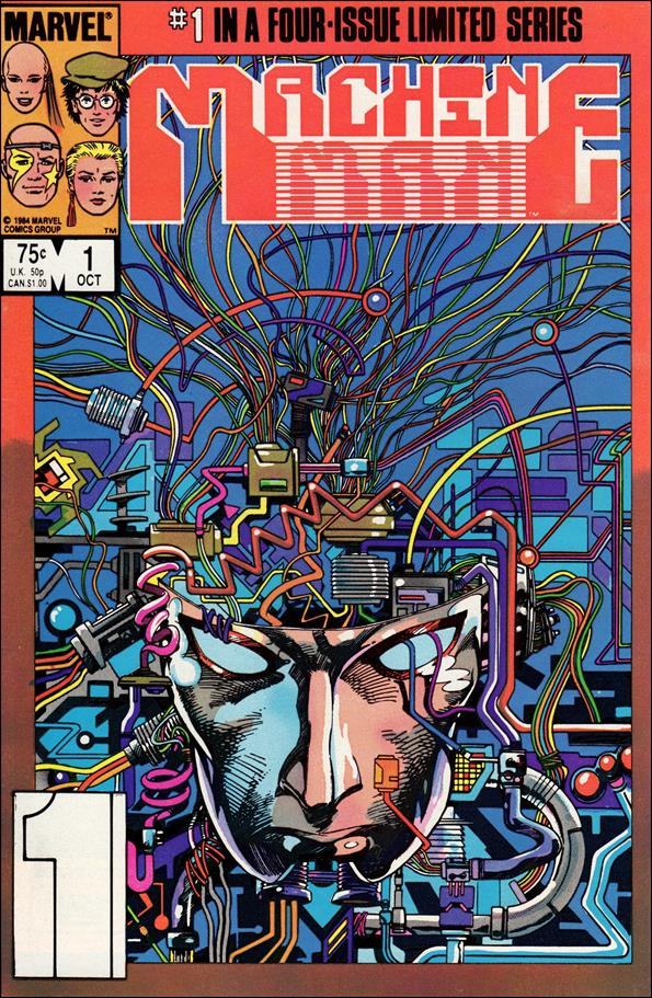 Machine Man (1984) 1-A by Marvel