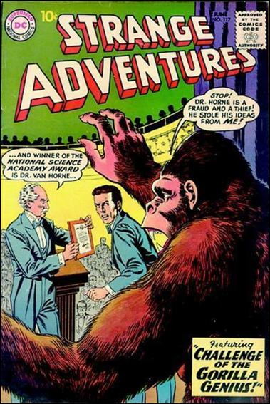 Strange Adventures (1950) 117-A by DC