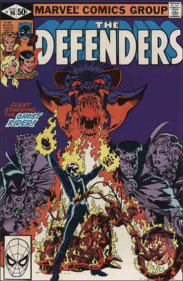 Defenders (1972) 96-A by Marvel