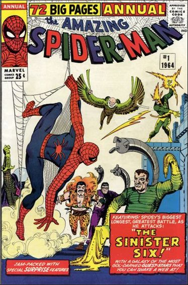 Amazing Spider-Man Annual 1-A by Marvel