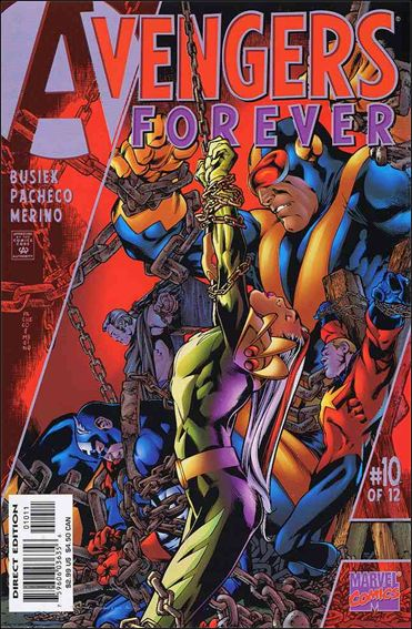 Avengers: Forever 10-A by Marvel