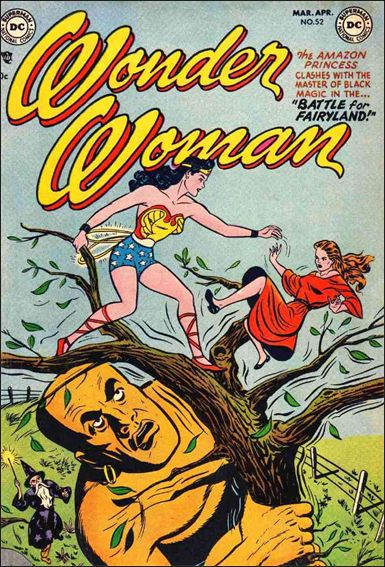Wonder Woman (1942) 52-A by DC