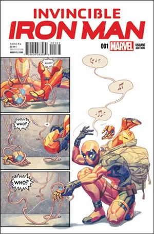 Invincible Iron Man (2015)  1-K