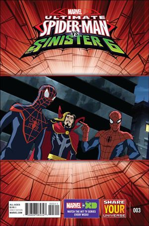 Marvel Universe Ultimate Spider-Man vs. the Sinister Six 3-A
