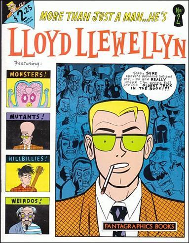 Lloyd Llewellyn 2-A by Fantagraphics