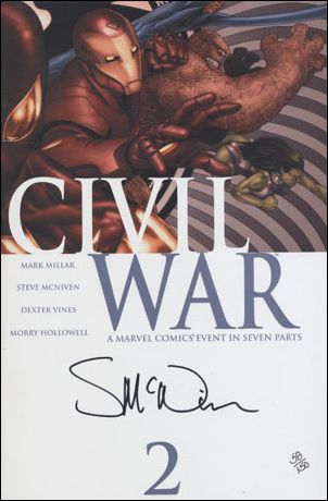 Civil War (2006) 2-F by Marvel