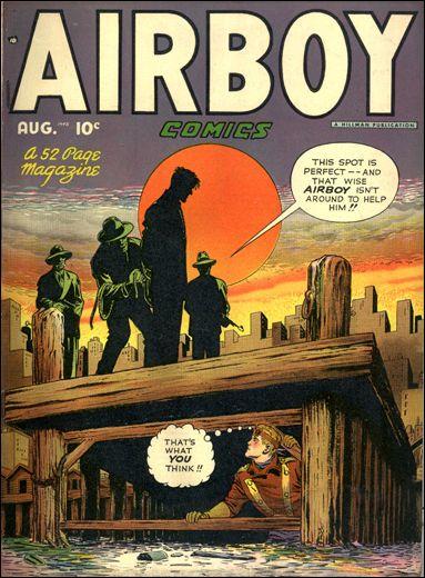 Airboy Comics (1948) 7-A by Hillman