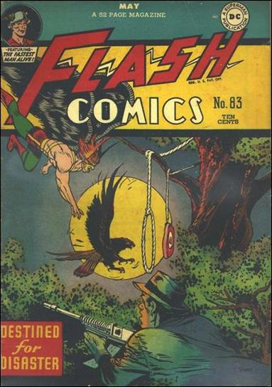 Flash Comics (1939) 83-A by DC