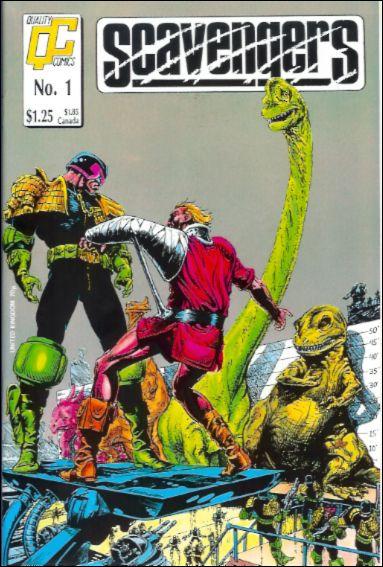 Scavengers (1988) 1-A by Quality Comics