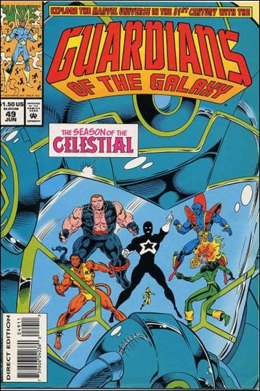 Guardians of the Galaxy (1990) 49-A by Marvel