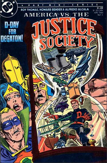 America vs the Justice Society 4-A by DC