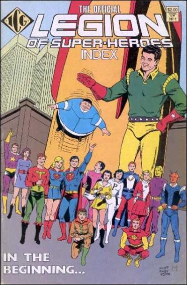Official Legion of Super-Heroes Index 1-A by ICG