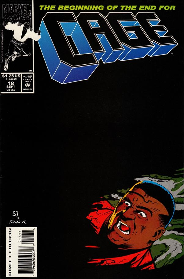 Cage (1992) 18-A by Marvel