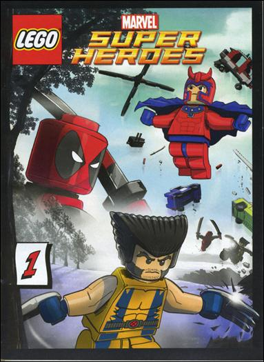 LEGO Marvel Super Heroes Comic Book by LEGO Title Details