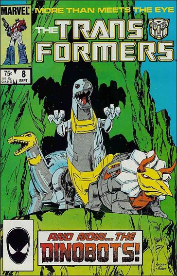 Transformers (1984) 8-A by Marvel