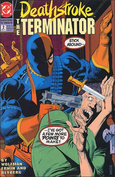 Deathstroke, the Terminator 2-A by DC