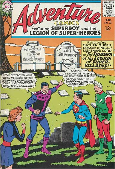 Adventure Comics (1938) 331-A by DC