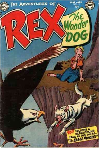 Adventures of Rex the Wonder Dog 14-A by DC