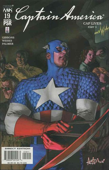 Captain America (2002) 19-A by Marvel