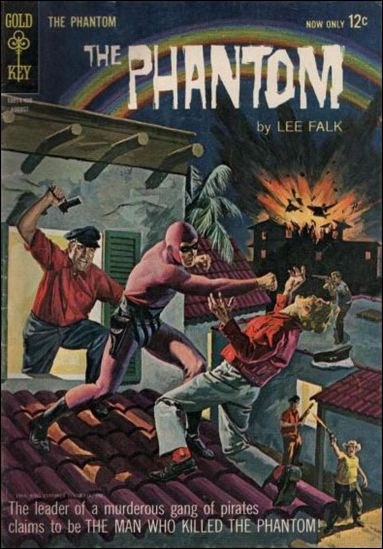 Phantom (1962) 8-A by Gold Key