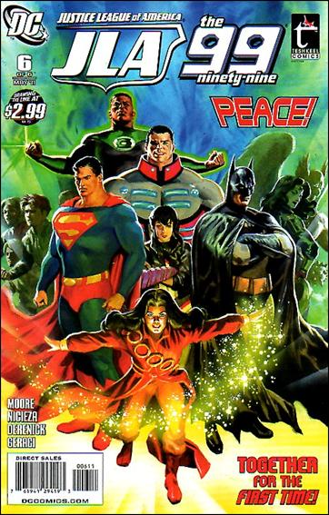 Justice League of America/The 99 6-A by DC
