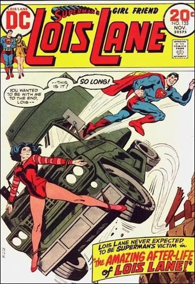 Superman's Girl Friend Lois Lane 135-A by DC