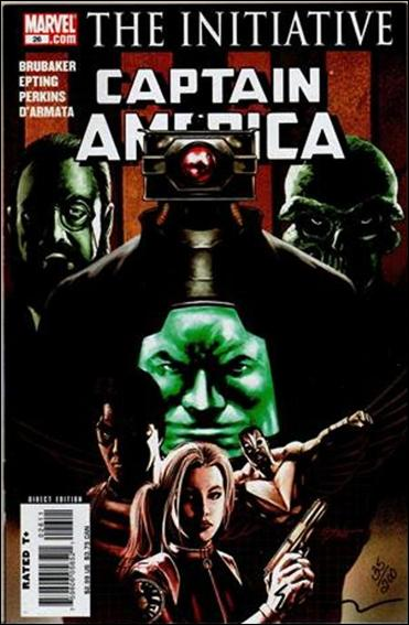 Captain America (2005) 26-B by Marvel