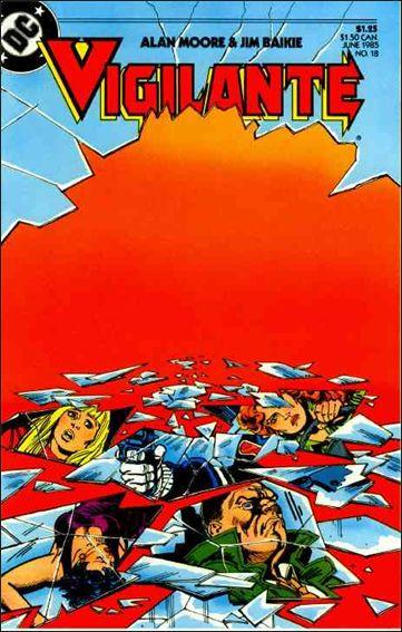 Vigilante (1983) 18-A by DC