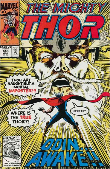 Thor (1966) 449-A by Marvel