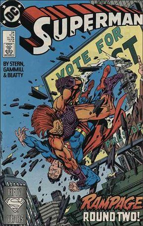 Superman (1987) 24-A