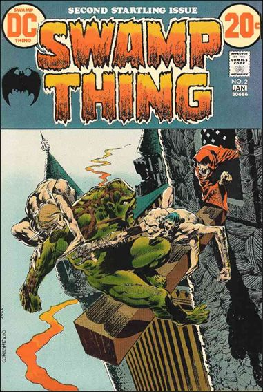 Swamp Thing (1972) 2-A by DC