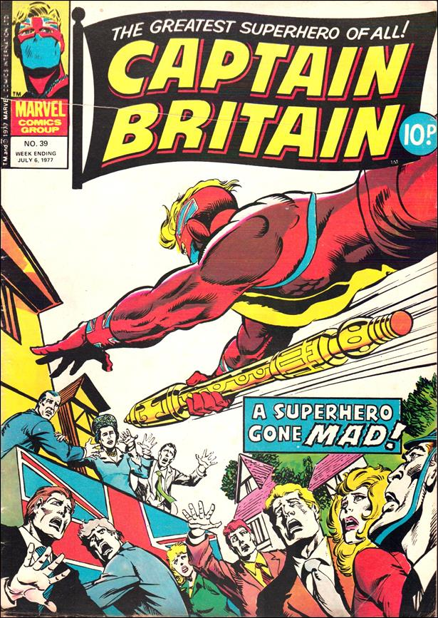 Captain Britain (UK) (1976) 39-A by Marvel UK