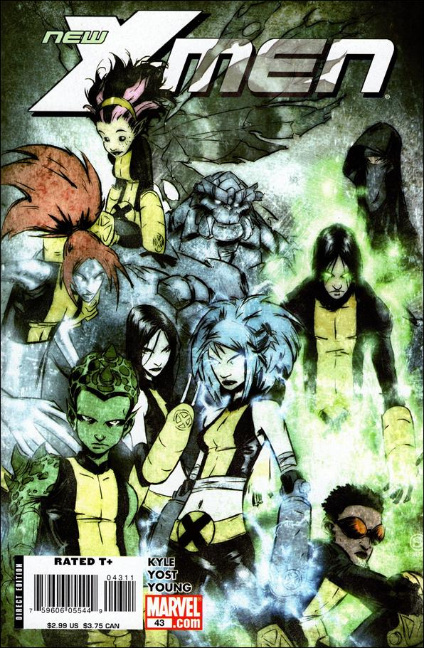 New X-Men (2006) 43-A by Marvel