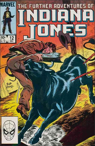 Further Adventures of Indiana Jones 12-A by Marvel