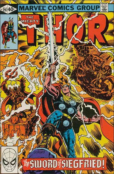 Thor (1966) 297-A by Marvel