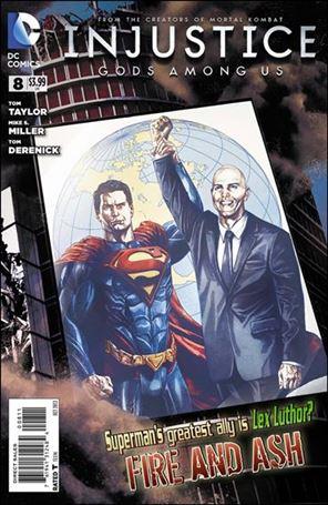 Injustice: Gods Among Us 8-A
