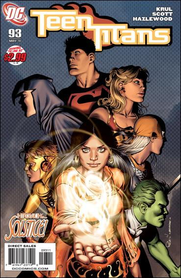 Teen Titans (2003) 93-A by DC