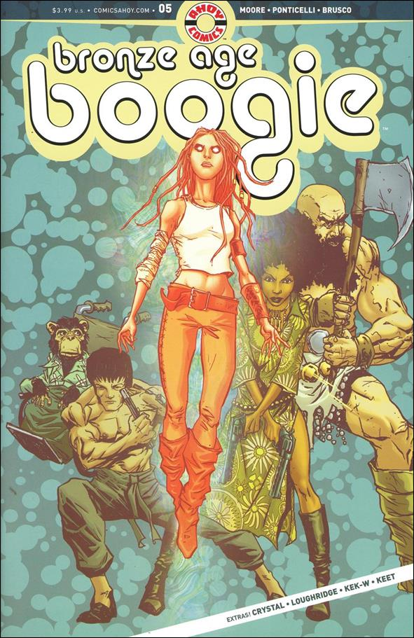 Bronze Age Boogie 5-A by Ahoy Comics