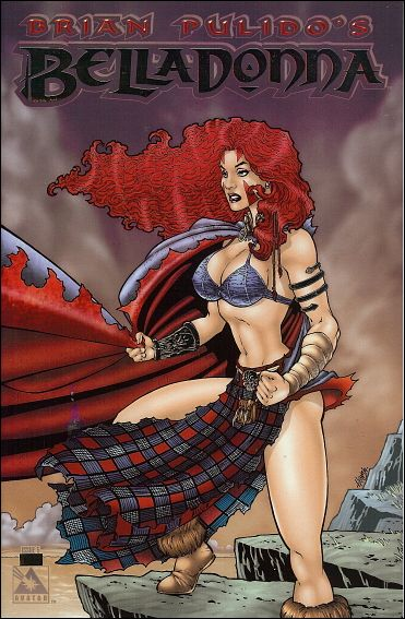 Brian Pulido's Belladonna (2004) 5-F by Avatar Press
