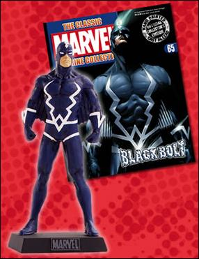 Classic Marvel Figurine Collection (UK) Black Bolt by Eaglemoss Publications