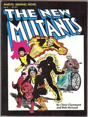 Marvel Graphic Novel 4-D