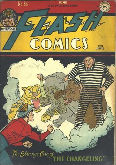 Flash Comics (1939) 84-A by DC