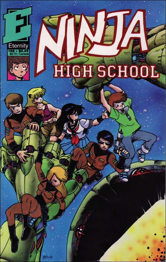 Ninja High School 29-A by Antarctic Press
