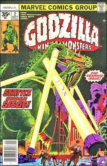 Godzilla (1977) 2-B by Marvel