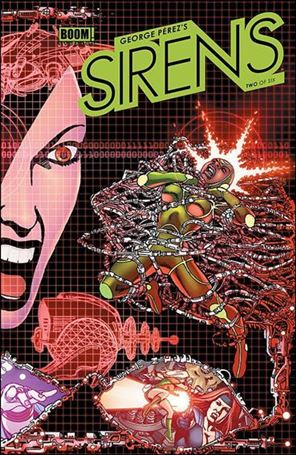 George Perez's Sirens 2-A