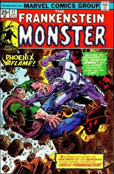 Frankenstein (1973) 17-A by Marvel