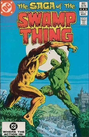 Saga of the Swamp Thing 11-A